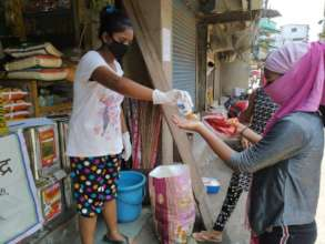 Girls taking lead in relief work