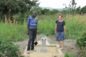 Carol & David, Project Manager at New Jinja Well
