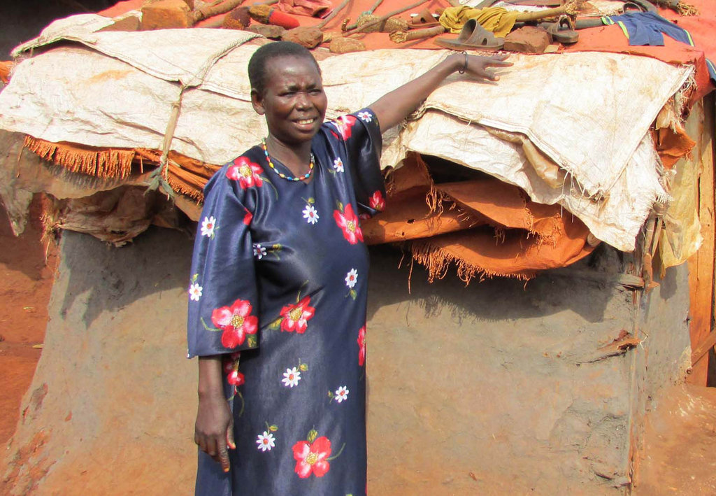 Good Bye Slums. Help 70 Uganda Women Build Homes.