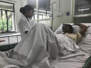 At KEM Hospital General ward