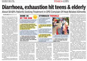 Diarrhoea, exhaustion hits teen and elderly