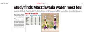 Marathwada water most foul