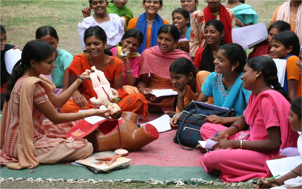 Empowerment of 154000 Adolescent Girls in India