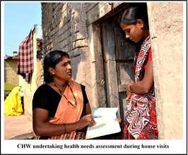 CHW providing antenatal care