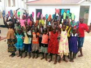 Girls at Butiama Safe House