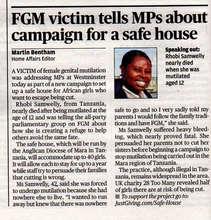 Evening Standard Article Oct 15th 2014