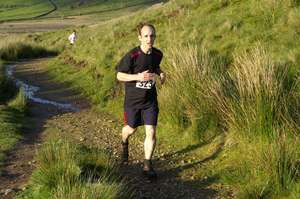 Ian Dobie's Fell Race raised over 400 pounds