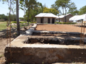Foundations to be destroyed & new toilets beyond