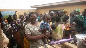 Rhobi with Kurya mothers and children