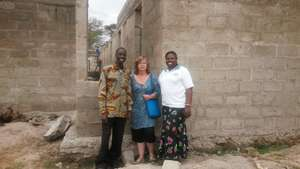 Rhobi with colleague and TDT's Janet Chapman