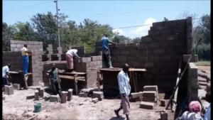 Building team at work a few weeks ago