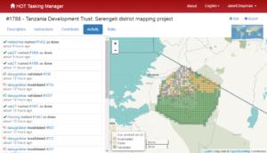 Serengeti mapping task