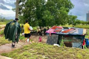 Emergency food support to vulnerable families