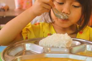 Healthy hot lunches at our Education Center