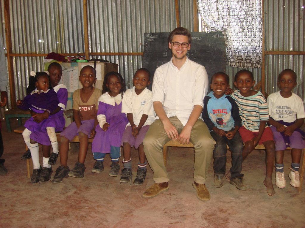 School Feeding Program in Nairobi Primary School