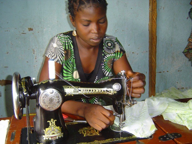 New Tailoring Shop to give at Risk Women work