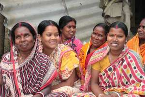 Women farmers on our AMS programme