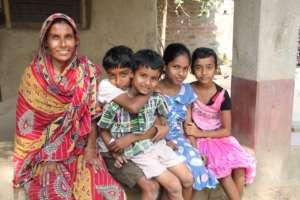 Beneficiary family - poultry farming enterprise