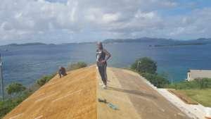 Angela on the SEA Roof