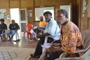 Sek Clan and Madang Maror at BRG house meeting
