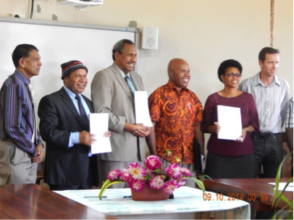 Signing of the MOA between RCF and UOG