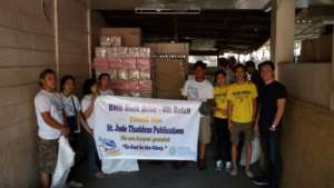 The latest shipment of books is now in Tacloban