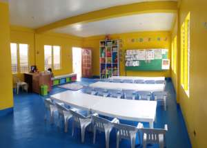 You've provided bright, beautiful classrooms