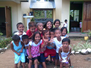 You've helped these kids at Anibongon School