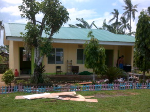 This grade 5 classroom now has a new roof