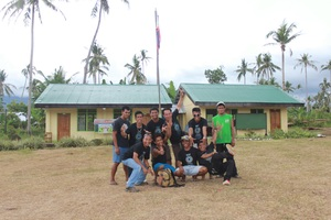 Anibongon School now and the team who fixed it