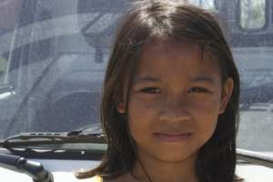 12 year old Marivic was rescued from the dumpsite