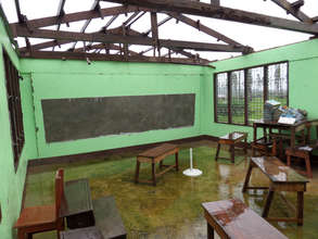 Haiyan did extensive damage to local schools