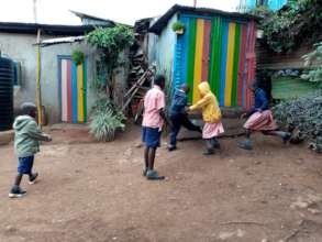 Play time at Transition School