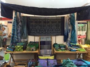 AAC Exhibit Booth with handicrafts, Dec. 2015