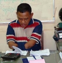 Mr. Chan at work at AAC member organization