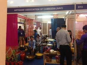 AAC represented at a trade fair in Phnom Penh