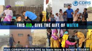 CDRS built water tanks and wells for poor villages