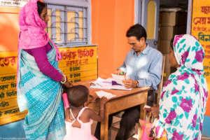 Noori at RHCF's Dhaniakhali primary health centre