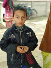 Tarik, our young beneficiary
