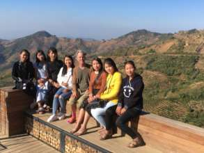 A trip out to viewpoint in the outskirts of Kalaw