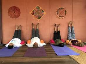 The new yoga studio!