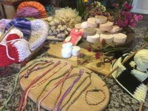 Some of the new crafts and products for Eco Shop