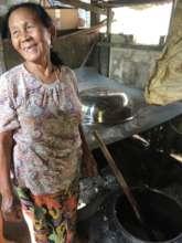 Our amazing Kachin fermentation teacher!