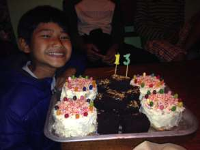 Birthday cakes & Cashew Brownies