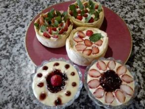 More of our creme patisserie desserts!!!