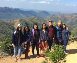 A family trip to the incredible viewpoint in Kalaw