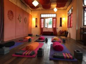 our new yoga studio is already offering trainings