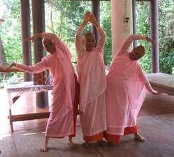 Buddhist Nun Training