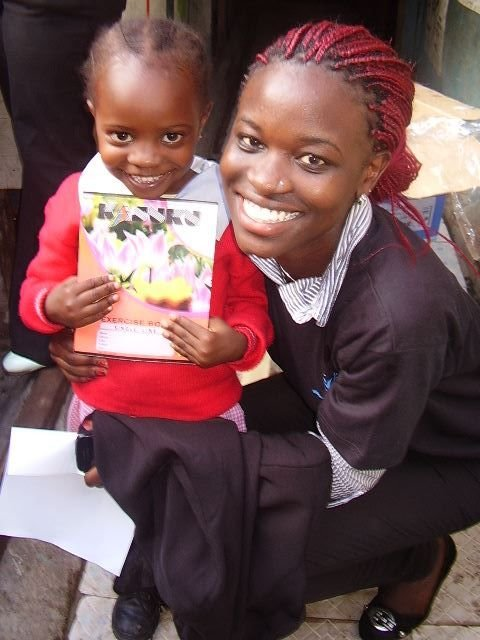 support 100 children in education in kenya