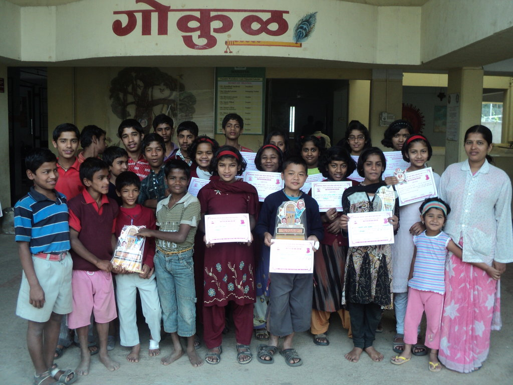 Empowering 50 HIV+ kids in India through education